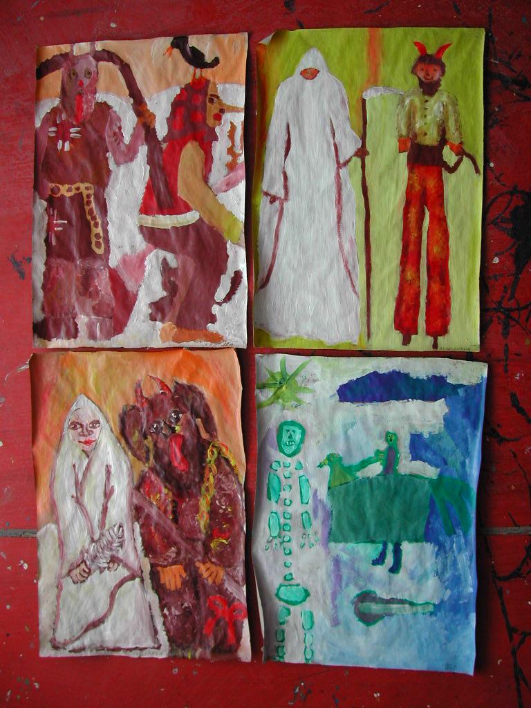 CARNEVAL ŽILINA SLOVAKIA DŇA 4.2.2005 v uliciach mesta sa na Hlinkovom  námestí konal žilinský festival karnevalových masiek. Žiaci ZUŠ Dobšinského  spolu s ... 3b89c4ce11c